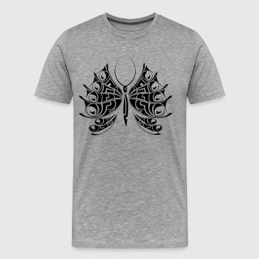 Butterfly tattoo art - Men's Premium T-Shirt