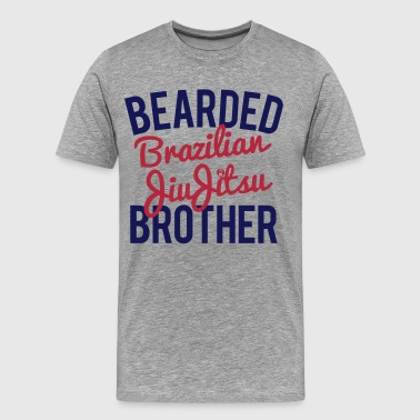 Bearded_BJJ_Brother - Men's Premium T-Shirt