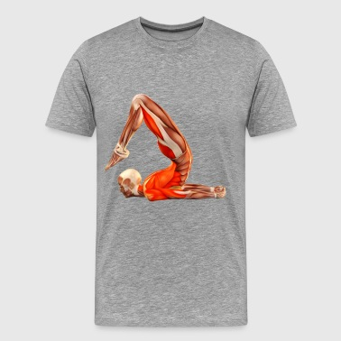 yoga poses - Men's Premium T-Shirt