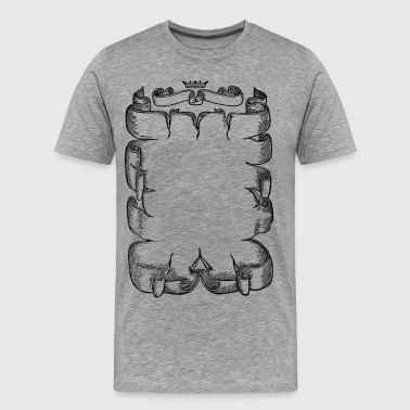 Medieval Scroll - Men's Premium T-Shirt