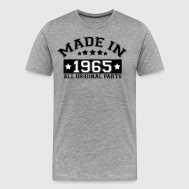 MADE IN 1965 ALL ORIGINAL PARTS - Men's Premium T-Shirt