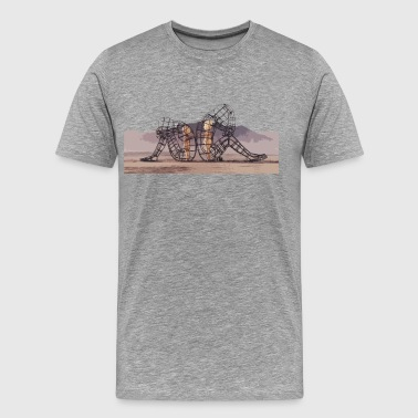 Love at Burning Man. - Men's Premium T-Shirt