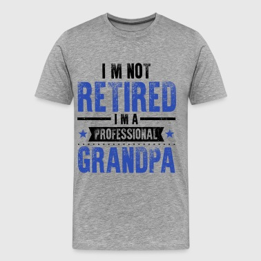 Retirement Grandpa - Men's Premium T-Shirt