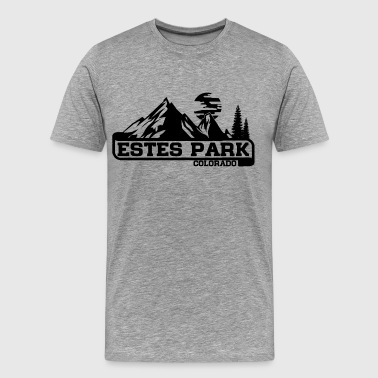 Estes Park Colorado - Men's Premium T-Shirt