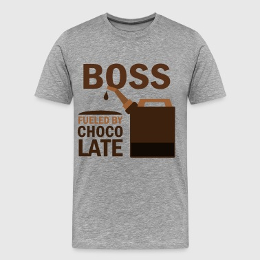 Boss Fueled By Chocolate - Men's Premium T-Shirt