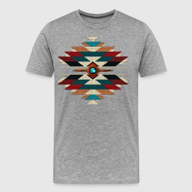 Southwest Native Sunburst - Men's Premium T-Shirt