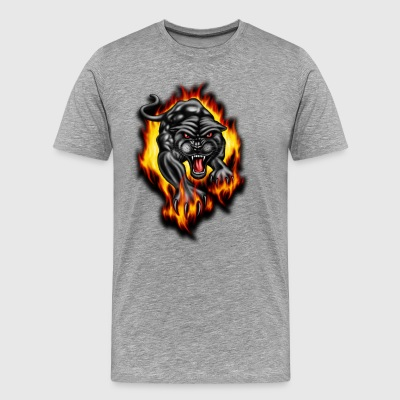 firy tiger - Men's Premium T-Shirt