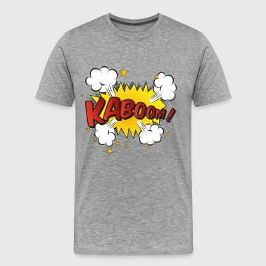 kaboom comic - Men's Premium T-Shirt
