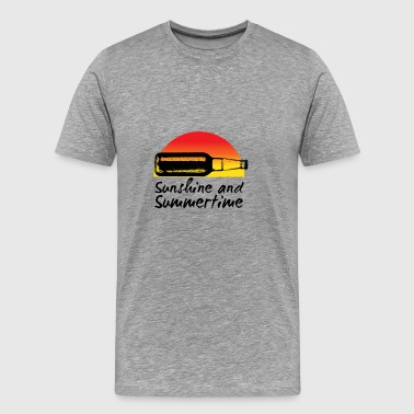 sunshine and summertime - Men's Premium T-Shirt