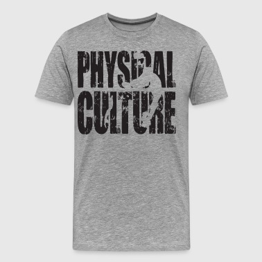 Physical Culture - Strong Man Iconic - Men's Premium T-Shirt