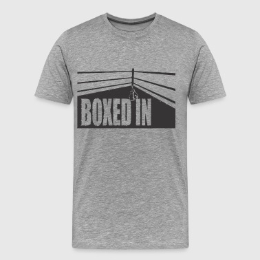 boxed in black - Men's Premium T-Shirt