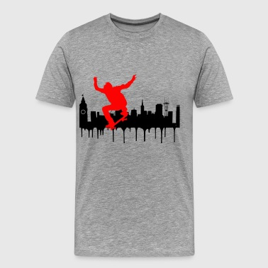 City skate 2 - Men's Premium T-Shirt