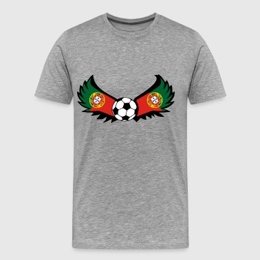 Soccer Portugal - Men's Premium T-Shirt
