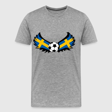 Soccer Sweden - Men's Premium T-Shirt