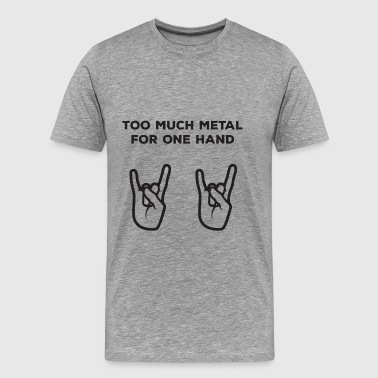 Heavy Metal T Shirt - Men's Premium T-Shirt