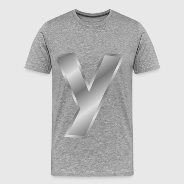 Effect Letters Alphabet S - Men's Premium T-Shirt