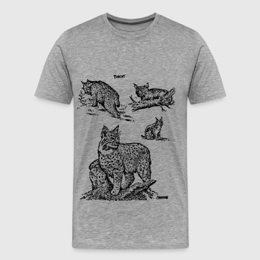 Bobcats - Men's Premium T-Shirt