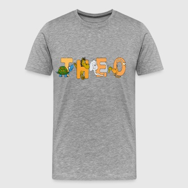 Theo - Men's Premium T-Shirt
