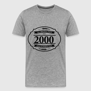 All original Parts 2000 - Men's Premium T-Shirt