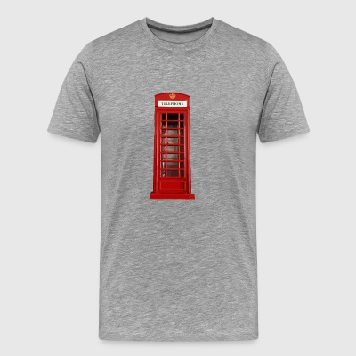 phone booth2 - Men's Premium T-Shirt