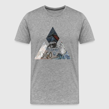 THE CHAINSMOKERS - Men's Premium T-Shirt