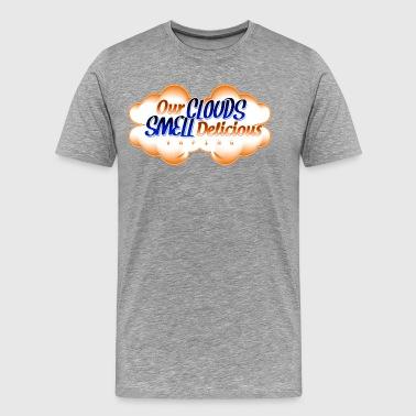 Shop ecig t shirts online spreadshirt clouds mens premium t shirt sciox Gallery