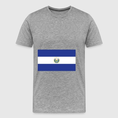 Flag of El Salvador Cool El Salvadorian Flag - Men's Premium T-Shirt