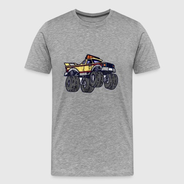 Cool Monster Truck Shirt for Kids - Men's Premium T-Shirt