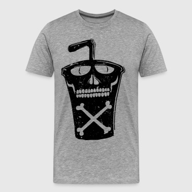Soda cup fast food drink - Men's Premium T-Shirt