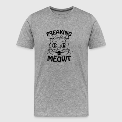 Freaking Meowt - Men's Premium T-Shirt