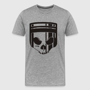 Skull Piston - Men's Premium T-Shirt