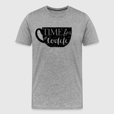 time for covfefe - Men's Premium T-Shirt