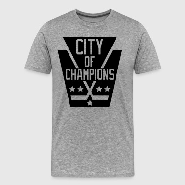 City of Champions - Black - Men's Premium T-Shirt