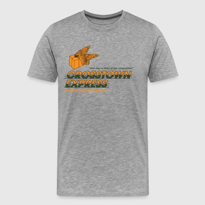 Crosstown Express - Seven - Men's Premium T-Shirt
