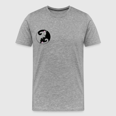 The Ying to my Yang - Men's Premium T-Shirt