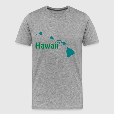 Hawaii Design - Men's Premium T-Shirt