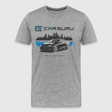 Car Guru - Skyline - Men's Premium T-Shirt