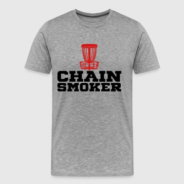 Chain Smoker - Men's Premium T-Shirt