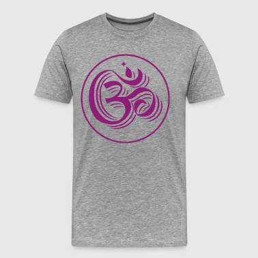 mantra om - Men's Premium T-Shirt
