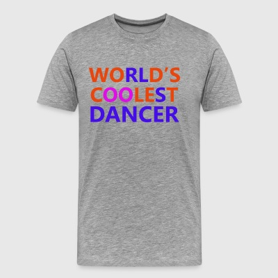 coolest dancer design - Men's Premium T-Shirt