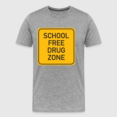 School Free Drug Zone - Men's Premium T-Shirt