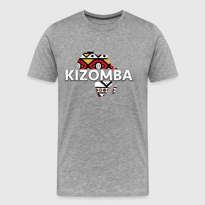 Kizomba_map - Men's Premium T-Shirt