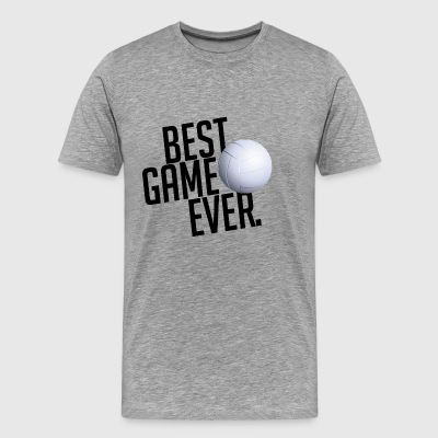 BEST GAME EVER VOLLEYBALL GIFT - Men's Premium T-Shirt