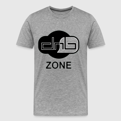 DRUM AND BASS ZONE - Men's Premium T-Shirt