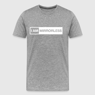 I AM MIRRORLESS cap - Men's Premium T-Shirt