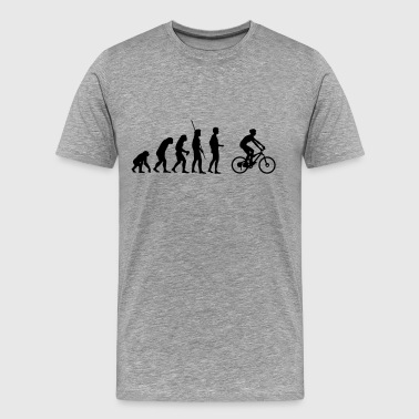 Evolution mountain bikers - Men's Premium T-Shirt