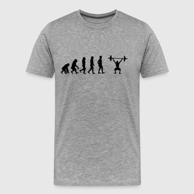 Weight lifting - Men's Premium T-Shirt