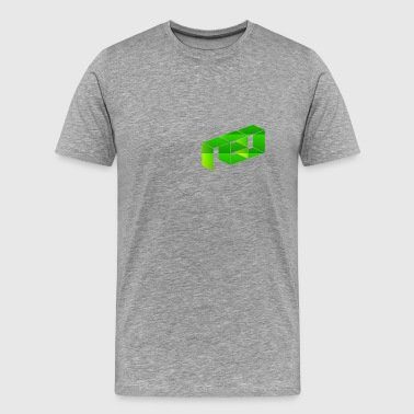 NEO Green Logo - Men's Premium T-Shirt