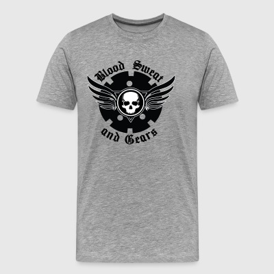 Blood Sweat and Gears - Men's Premium T-Shirt