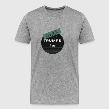 Covfefe Trumps Tea. Coffee Lovers Know. - Men's Premium T-Shirt